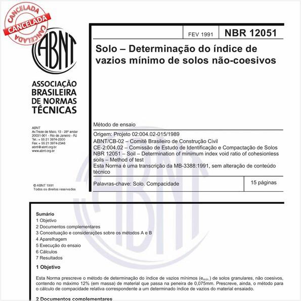 NBR12051 de 07/2015