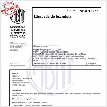 NBR12056 de 02/1991