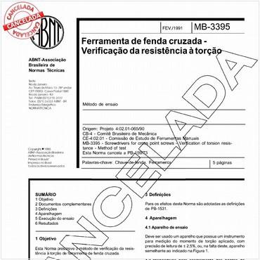 NBR12058 de 02/1991