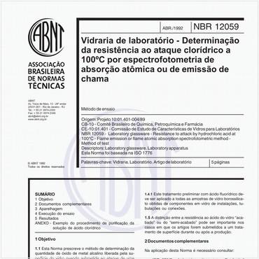 NBR12059 de 04/1992