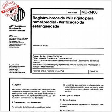 NBR12063 de 04/1991