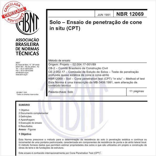 NBR12069 de 07/2015