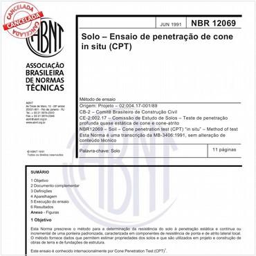 NBR12069 de 06/1991