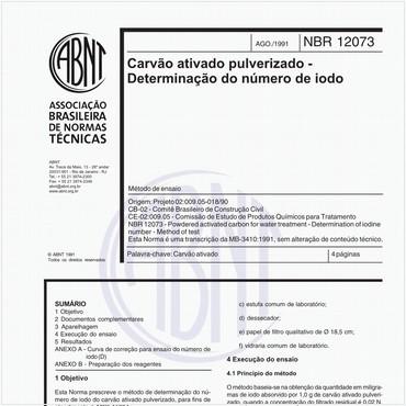 NBR12073 de 08/1991