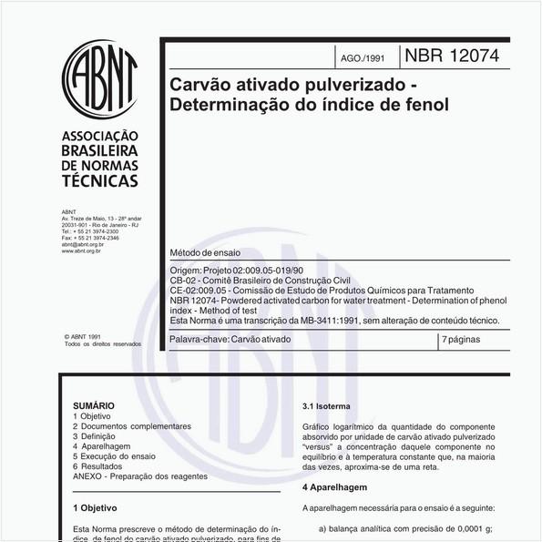 NBR12074 de 08/1991
