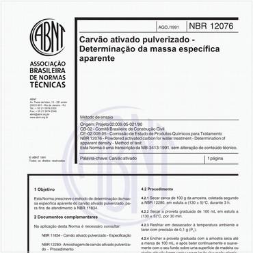NBR12076 de 08/1991