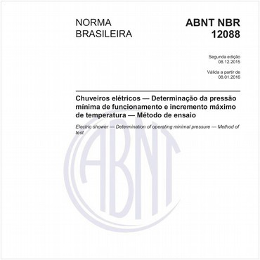 NBR12088 de 12/2015