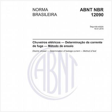 NBR12090 de 01/2016