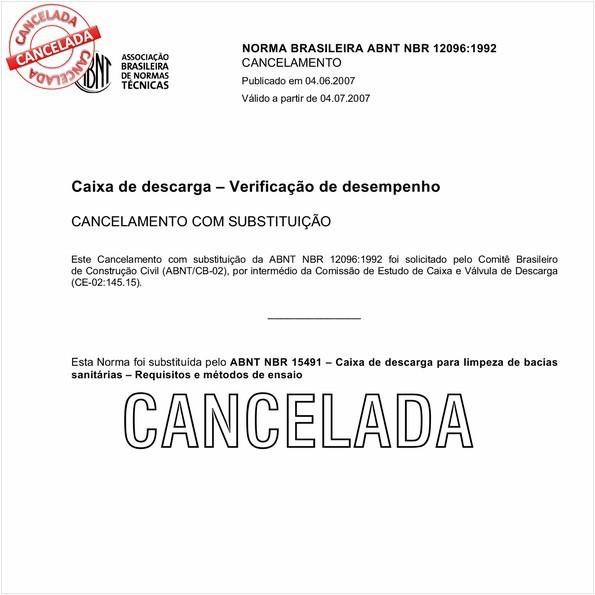 NBR12096 de 06/2007
