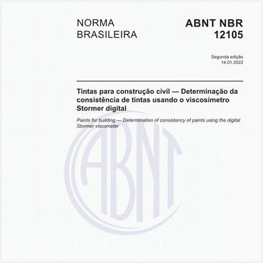 NBR12105 de 10/1991
