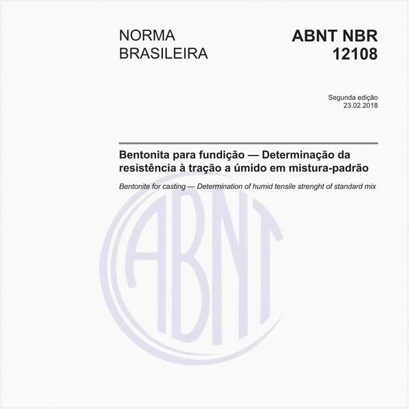 NBR12108 de 02/2018