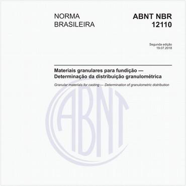 NBR12110 de 07/2018