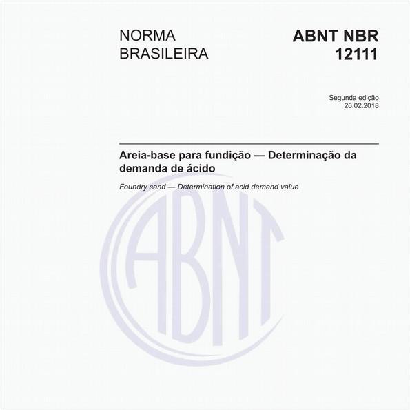 NBR12111 de 02/2018