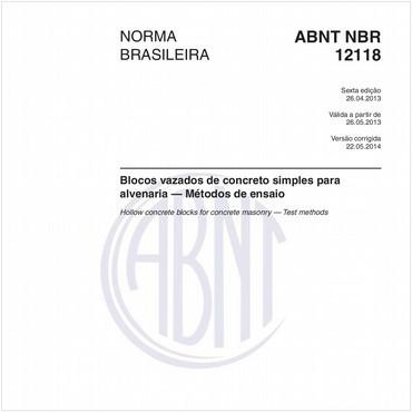 NBR12118 de 04/2013