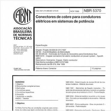 NBR5370 de 11/1990