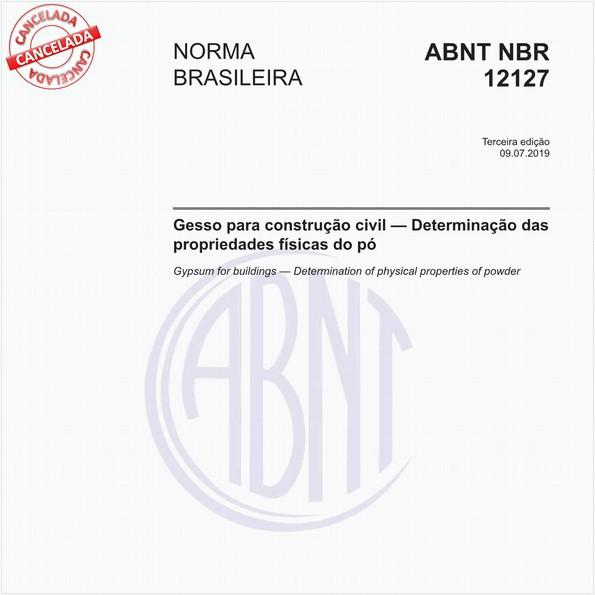 NBR12127 de 01/2017