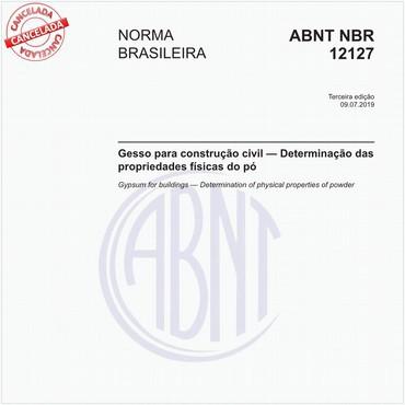 NBR12127 de 07/2019