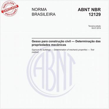 NBR12129 de 07/2019