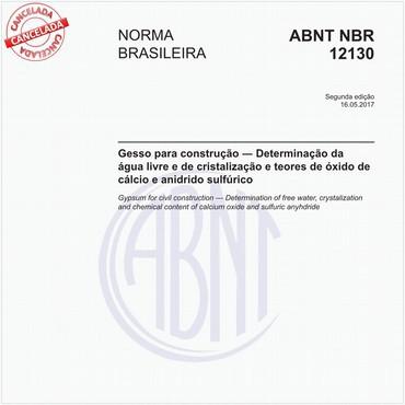 NBR12130 de 05/2017