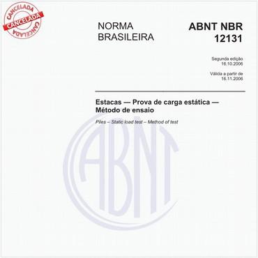 NBR12131 de 10/2006