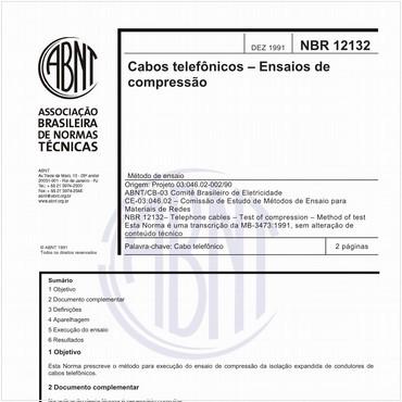 NBR12132 de 12/1991