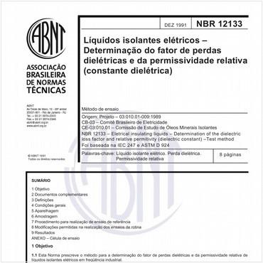 NBR12133 de 12/1991