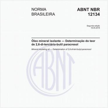 NBR12134 de 05/2018
