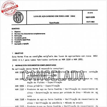 NBR6326 de 10/1982