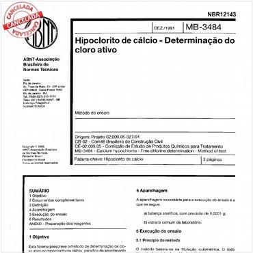 NBR12143 de 12/1991