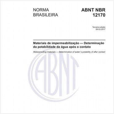 NBR12170 de 03/2017