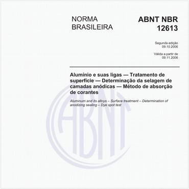NBR12613 de 10/2006