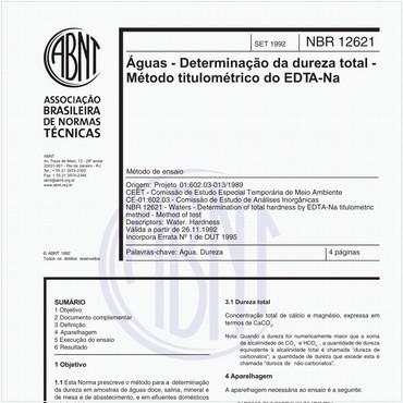NBR12621 de 09/1992