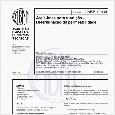 NBR12634 de 07/1992