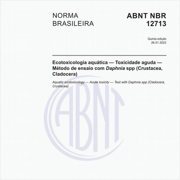 Ecotoxicologia aquática - Toxicidade aguda - Método de ensaio com Daphnia spp (Crustacea, Cladocera)