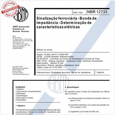NBR12733 de 03/1993