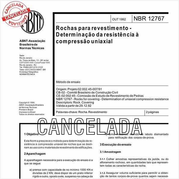 NBR12767 de 06/2010