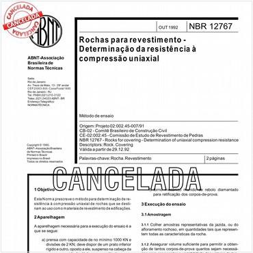 NBR12767 de 10/1992