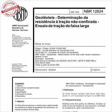 NBR12824 de 04/1993