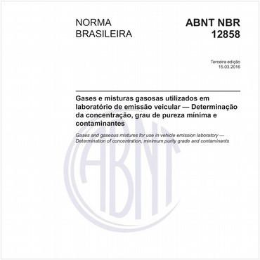 NBR12858 de 03/2016