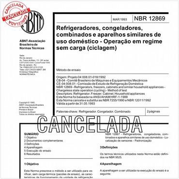 NBR12869 de 03/1993
