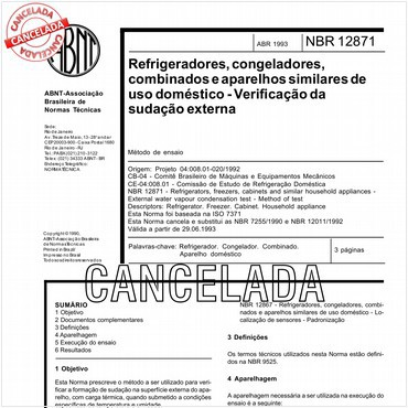 NBR12871 de 04/1993