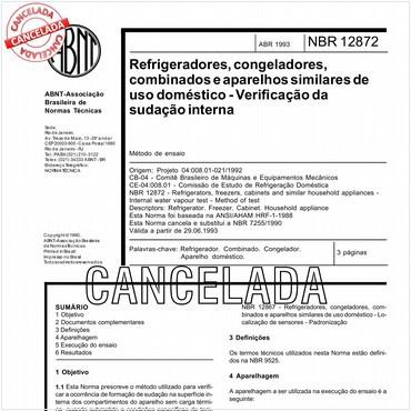 NBR12872 de 04/1993