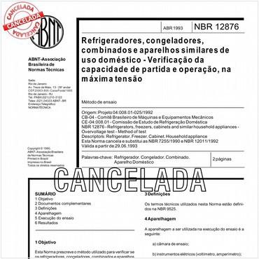 NBR12876 de 04/1993