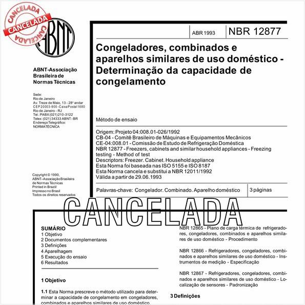 NBR12877 de 10/2012