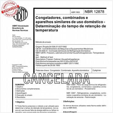 NBR12878 de 04/1993