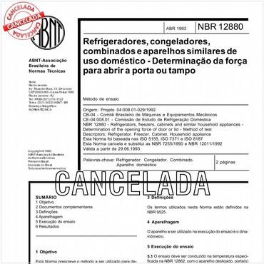 NBR12880 de 04/1993