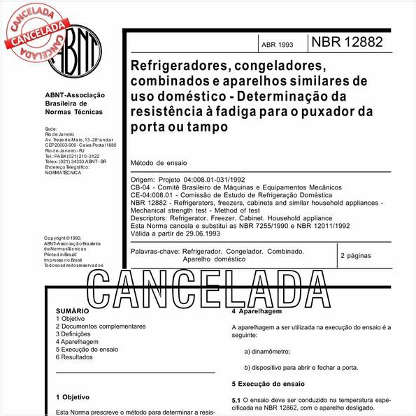 NBR12882 de 10/2012