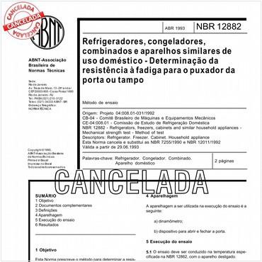 NBR12882 de 04/1993