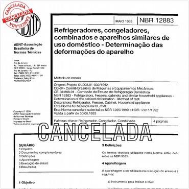 NBR12883 de 05/1993