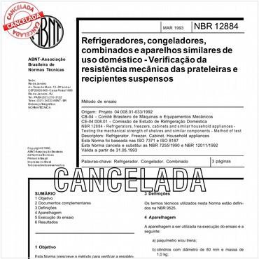 NBR12884 de 03/1993